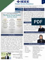 IEEEMY 2016Q3 Newsletter