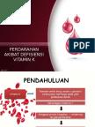 PDVK (Perdarahan Akibat Defisiensi Vitamin K)