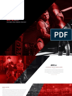 UFC GYM Franchise Brochure 733242287