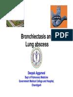 Bronchiejfgtctasis, Lung Abscesshdfh