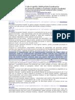 HOTARÂRE nr. 445 din 8 aprilie 2009 privind evaluarea impactului anumitor proiecte publice si private asupra mediului