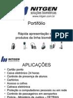 Portifólio Soluções Biométricas - Leitores Biométricos