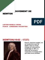 Lois Du Mouvement de Newton