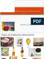 Disciplina Bioquc3admica Aula 8 Tipos de Indc3bastria de Alimentos