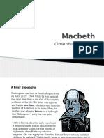 Macbeth Close Study