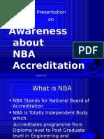 Awareness of NBA Accredit 6541423