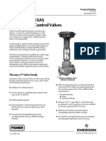 Fisher ES Sliding-Stem Control Valve
