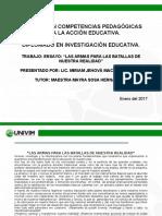 MACÍAS Miriam _Ensayo Las Relaciones Entre La Innovación, La Investigación Educativa y La Interdisciplina.