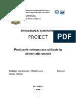 Produse forestiere nelemnoase