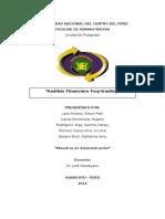Evaluación Económica y Financiera de La Empresa Troy-trading