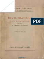 Ion c Bratianu-Acte Si Cuvantari