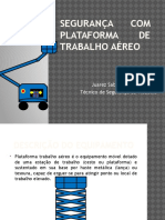 Segurança Com Plataforma de Trabalho Aéreo