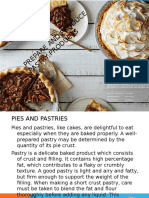 Prepare and Produce Pastry Products