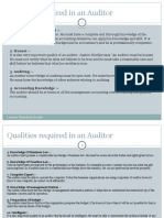 Quality Regired Auditor and Other Types Auditor