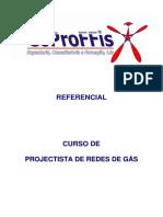 Referencial o Projectista de Redes de Gás
