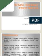 Refrat Peritonitis Agust G4A015061