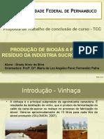 Apresentação proposta tcc