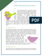 Desmembraciones Territoriales Del Ecuador