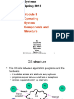 4-OS Structures CSE Study on Operating Systems অপারেটিং সিস্টেম