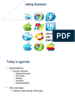 1 Introduction 325 Study on Operating Systems অপারেটিং সিস্টেম