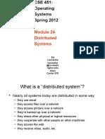 19 Distributed Study on Operating Systems অপারেটিং সিস্টেম