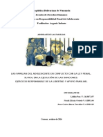 La Familia en La Ejecución de Las Sanciones Del Sistema Penal de Responsabilidad Del Adolescente-Naudi Trabajo Final y Exposicion (Definitivo)
