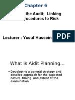 Ch 6 Audit Planiing