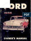 1956 Ford Owner's Manual