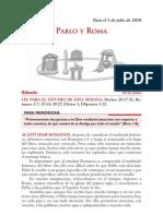 Lección 01 - Pablo y Roma (Sáb-03Julio)