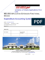 Oracle MD.050 Sample 1
