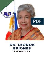 Dr. Leonor Briones