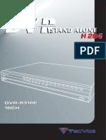 16CH - DVR-8316E