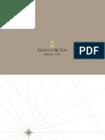 Arnold & Son Catalogue 2013-2014