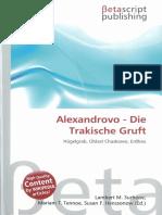 Alexandrovo-die Thrakische Gruft-wikipedia 2010