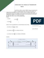Cálculo de Parametros de Lineas de Transmisión