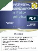 Desproporcion Fetopelvica Jc Final