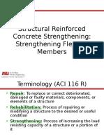 CE 598S1 - L22-23-Strengthening Concrete Flex Members