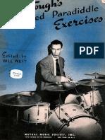 Dave Tough Advanced Paradiddle Exercises