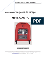 Manual Analizador de Gases Perfecto