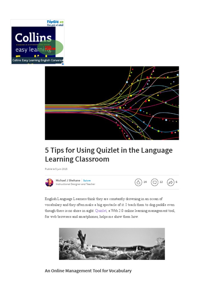 5 Tips for Using Quizlet in the Language Learning Classroom _