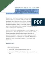 3.1 Análisis de Estrategia Dofa