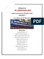 Competition Bill