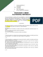 Rozsudok Denisa Pávková