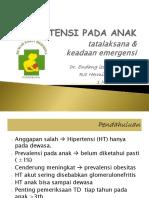 Hipertensi Pada Anak Pp Rsht PDF