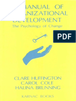 A Manual of Organizational Development 1997 READ