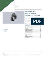 Estructura de Chumacera Tensora-Análisis Estático