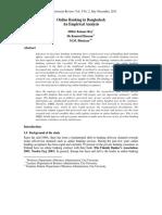 Online Banking in Bangladesh an Empirical Analysis
