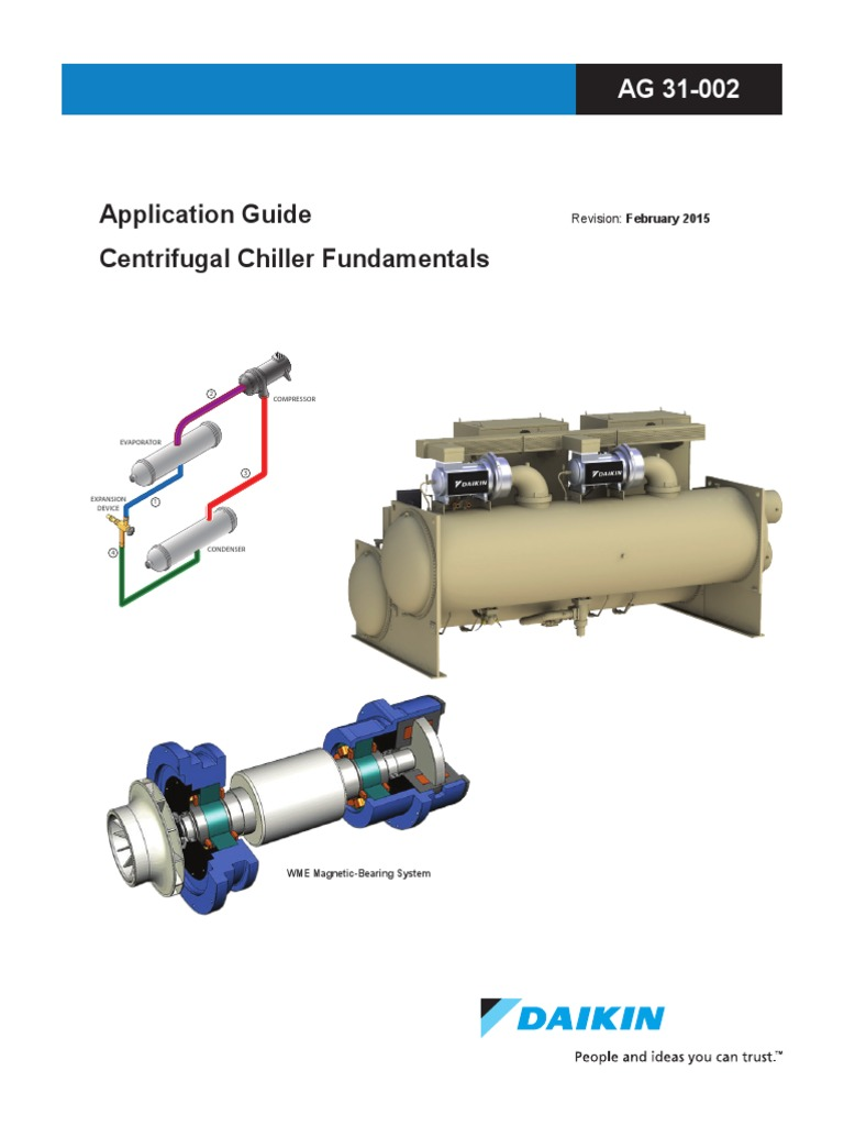 Daikin AG 31-002 Centrifugal Chiller Fundamentals Guide Vers 2 2