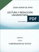 4a. y 5a. Clases Tipología Textual y Estrategias de Lectura