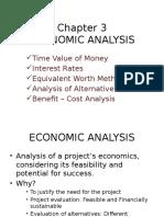 Chapter 3 - Economic Analysis